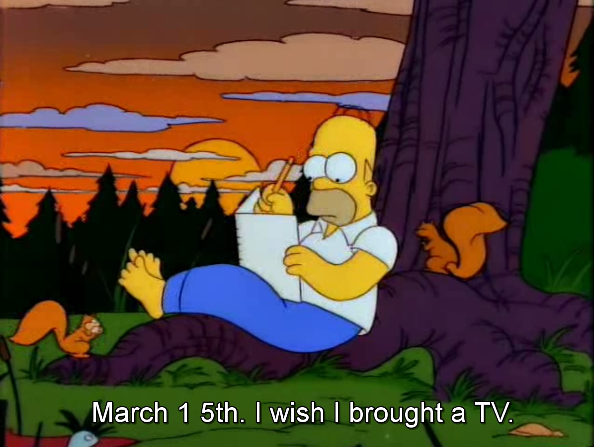 (2) The Simpsons